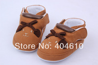 Baby shoes ! Infant prewalker cotton fabric Shoes soft-soled cartoon animal bowknot 2 design  in stock 3-18 month ETJ-X0152