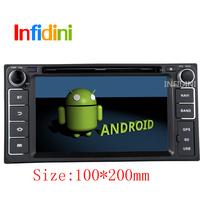 Pure Android 4.1 Toyota Hilux VIOS Old Camry Corolla Prado RAV4 Prado dvd gps 2002 2003 2004 2005 2006 2007 2008+Reverse camera