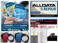 2014 alldata 10.53 mitchell and ondemand / Medium / Heavy Truck / Manager + Moto + ESI with Keygen + elsa + Data  45 in 1TB HDD