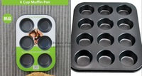 2pcs/lot a 12 in one +a 6 in one cupcake Baking Dishes pans cake tools cupcake pan muffin kitchenware cookie/chocolate mold