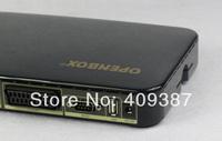 Free shipping 5pcs/lot 100% original openbox v5s satellite receiver support usb wifi full hd pvr, openbox v5s hd satellite