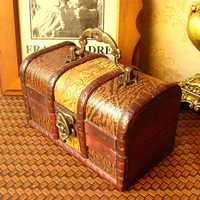 New arrive, European style handmade handicraft  small box with handle/jewelry box/gift box for girl