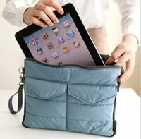 2014 For IPad Tablet PC Bag in Bag New Fashion Inner Bag Binder Organizer Hangbag Insert FREE SHIPPING