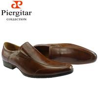 Wearable Brown Men Dress Shoes Slip On Formal Shoes Size 6-12