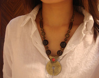 National accessories tibetan jewelry finaning necklace f-205