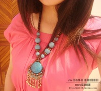 National accessories bohemia handmade vintage necklace f-08