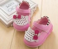 2014 spring shoes network hot-selling single shoes infant slip-resistant non-slip toddler shoes children shoes summer 3 colour