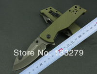 free shipping BERETTA folding blade  pocket, hunting knife, camping knife green handle