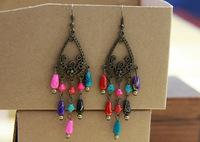 National accessories tibetan jewelry national trend earrings 216