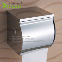 Xiduoli brand stainless steel toilet paper box roll holder toilet paper holder tissue box-in Paper Holders