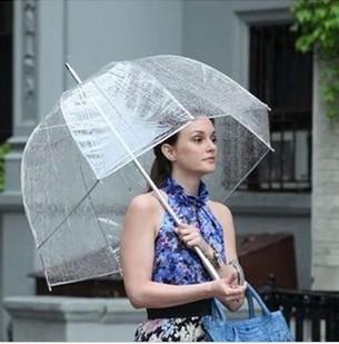 Princess umbrella Gossip Girl umbrella Apollo Transparent umbrella free shipping(China (Mainland))