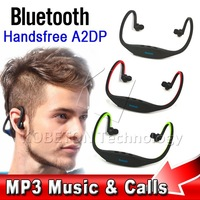 Sport Wireless Bluetooth Neckband Headset Headphone Earphone with MIC for Mobile phones for Iphone 5 5s for Samsung S3 S4 NOTE 3