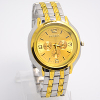 Wholesale men wristwatches fashion Quartz Analog watch Stainless Steel strap watches men SQW96