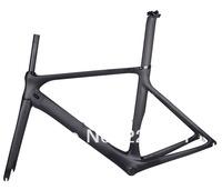 2014 New Road Bicycle Bike Carbon Frame Fork Seatpost Headset UD Matt BB86  53.5cm Frameset