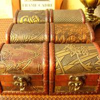 New arrive, Beautiful handmade antique box mini wood box/jewelry box 10*8*8cm wholesale