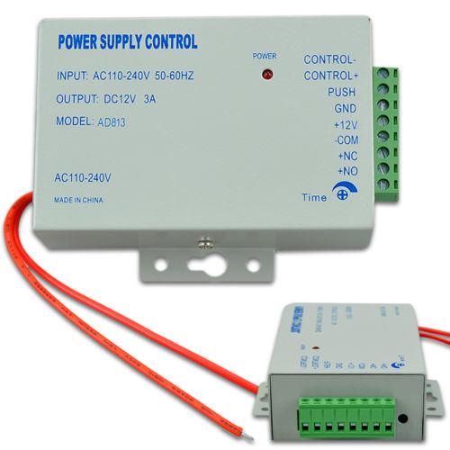 Система контроля доступа DC 12V 3A 110/240v