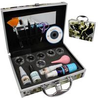 Pro False Eye Lash Eyelash Extension Glue Brush Full Kit Set With Case A-153