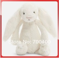 12 inches 3 colours Birthday gift  Easter Bunny big long ears rabbit children favorite plush toy free shipping