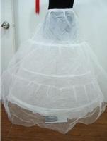Hot Sale New Autumn Winter Bridal Wedding Dressess Accessories Petticoats Cheap Underskirts Panniers 3 Ring 1 Yarn