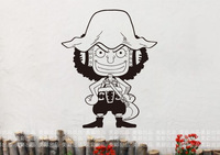 Free Shipping Wholesale and Retail One Piece Wall Stickers Wall Decors Wall Covering Vinyl  Wall Decal Home Decoration 311