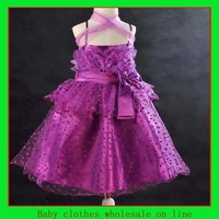 Infant girl dress 2014 baby girl lace dress fashion design girl summer dress bebe dresses 5 color wholesale christmas clothes