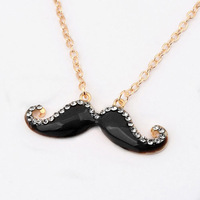 2014 New Style Hot Sale Fashion The Lovely Beard Women Favorite Necklace XLF81
