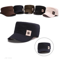 Brand Men Baseball Cap Man's Flat Military Hat Spring Autumn Outdoor Leisure Tide Male Star Caps HOT Free Shipping