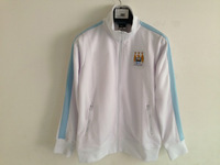 2013-2014 Manchester City Authentic Track Jacket-White