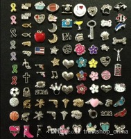 Mixed Floating Charms For Glass Memory Living Floating Locket Pendant Xmas Gift No Locket