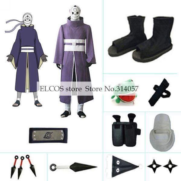 Naruto Uchiha Madara Rinnegan Cosplay Costume set China  Mainland  Uchiha Madara Rinnegan Cosplay