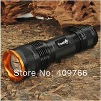 20PCS/LOT Trustfire Z3 Flashlight 7 Mode 1000 Lumens CREE XM-L T6 LED Zoomable Waterproof Camping Hiking Flashlight  By 1* 18650