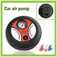 Free Shipping!! 2014 New Portable Mini car Air Compressor Tire Inflator Car Auto air Pump 260PSI DC 12V