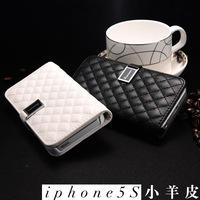 For apple   5 iphone4 4s 5 phone case 5s mobile phone genuine leather case 5c mobile phone case protective case shell