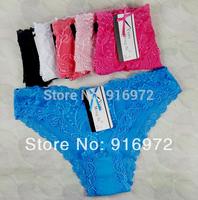 Hot sale Women Sexy  whole lace  panties  women's panties  mix colors  14.5/10pcs Free shipping