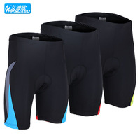 2014 Arsuxeo spring summer cycling mountain bike bicycle underwear shorts.3D coolmax paded.5558