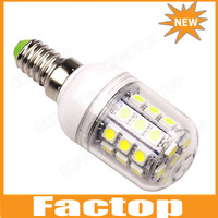 E14 5W 3000-6500K 360-Lumen 30 x 5050 SMD LED Warm White, White Light Bulb  AC110V