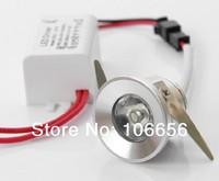 high brightness 100-110lm mini led ceiling 1w cabinet light