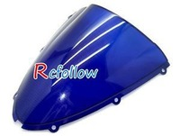 Details about Blue Windshield Windscreen Fit For Kawasaki ZX10R 2006 2007 & ZX6R 2005-08