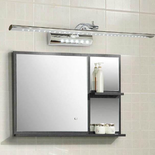 bagno Illuminazione decorazione : in acciaio inox 7w 53cm led muro del bagno specchio con illuminazione ...