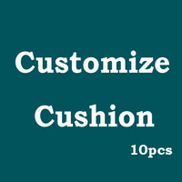 Customize Vintage Natural Linen Cushion Cover  Custom Made Cotton Car Sofa throw Pillow case Free Shipping 10pcs lot Wholesale