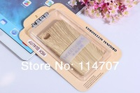 20pcs/lot High Quality wooden style Shockproof Dirtproof case for iphone 4 4s with very good retailed package ,Free shipping