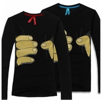 2014 Men's long Sleeve T Shirt slim fit ,brand shirts for men ,designer shirts,XXL boy london shirt free shipping