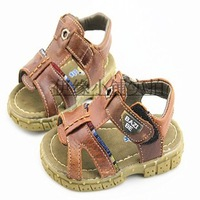 2013 summer children shoes child boys shoes genuine leather cattle leather sandals cow muscle child sandals outsole ploughboys
