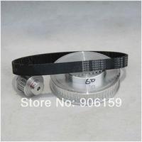 Timing belt  CNC Engraving machine parts timing belts deceleration suite 5M (3:1)