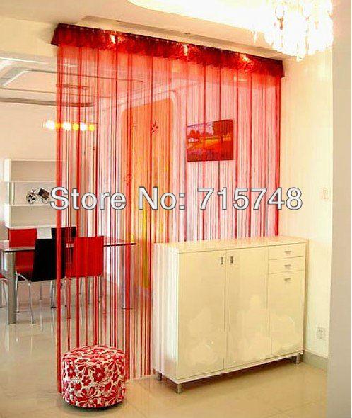 3pcs/lot 200cm*100cm String Line Curtains, Window Curtain, Fringe Panel,Home Decoration Door Panel Room Divider Wedding(China (Mainland))