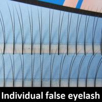 Stylish 8mm/10mm/12mm professional Individual false eyelash C curl planting eye lashes extension makeup tools 2 Tray 135 Strips