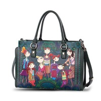 2014 New Fashion Style Pu Leather Original Designer Brand Shoulder Bag For Women Handbag Motorcycle Messenger Bag