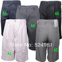 Free shipping! single male shorts ashworth golf clothes Men golf male shorts quick-drying
