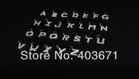 New fashion alphabet style II Dustproof ear hole cap / charm / for 3G 4G with 3.5mm plug cap / Wholesale