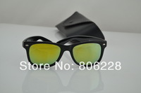 UV New men sunglasses , women sunglasses . high quality retro sunglasses 2140.Colored reflective glass lens sunglasses50MM